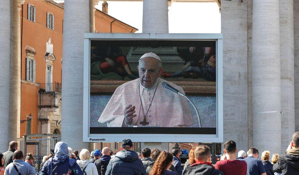 Papa reza por el fin de la pandemia