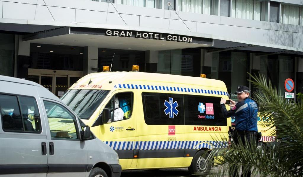 Abre en Madrid primer hotel para atender a los afectados por coronavirus