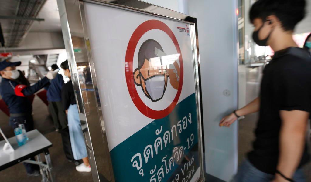 Por coronavirus, Tailandia restringe viajes internacionales