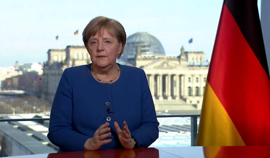 Merkel da negativo en segunda prueba de coronavirus
