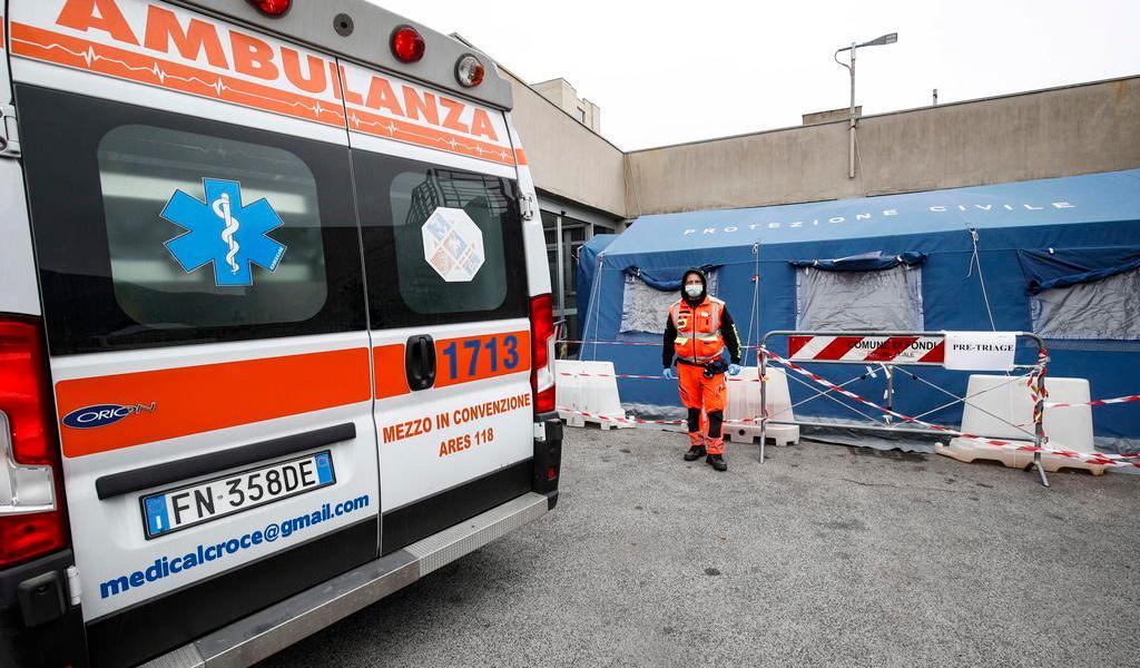 Supera Italia los 7 mil 500 muertos con coronavirus
