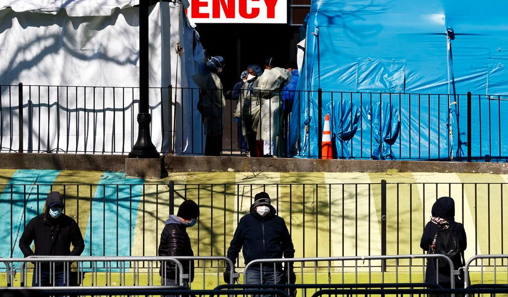 Supera Nueva York los 37 mil casos de COVID-19; fallecen 100 personas en un día