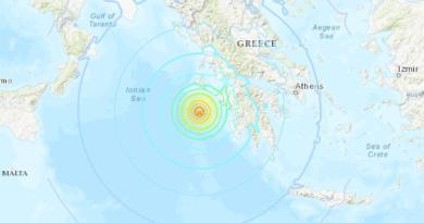 Sin daños por sismo de magnitud 5.9 en ciudad griega de Creta