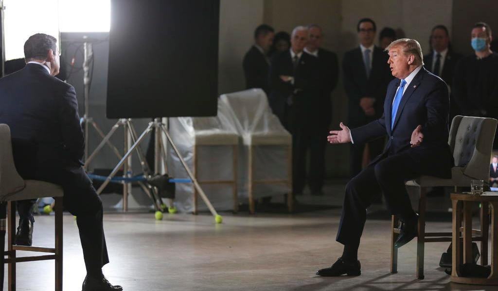 Asegura Trump que la reapertura es posible protegiendo la salud