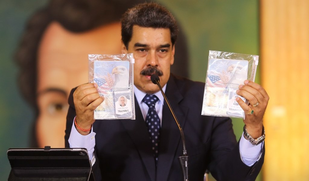 Venezuela detiene a 4 por intento de incursión