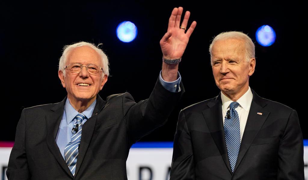 Biden y Sanders lanzan nueva iniciativa para unir a demócratas