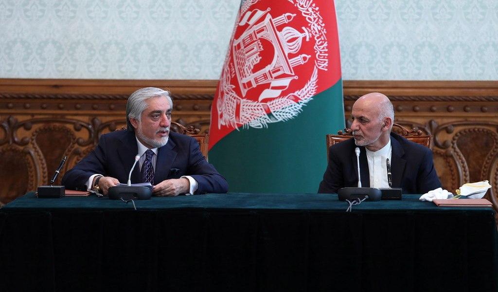 En unidad, Ghani y Abdullah