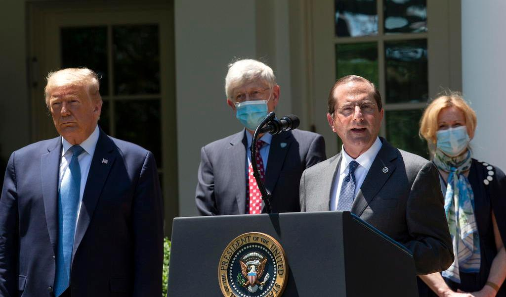 Con 90 mil muertes por COVID, EUA acusa de falla a OMS