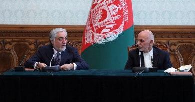 Celebran acuerdo entre líderes afganos
