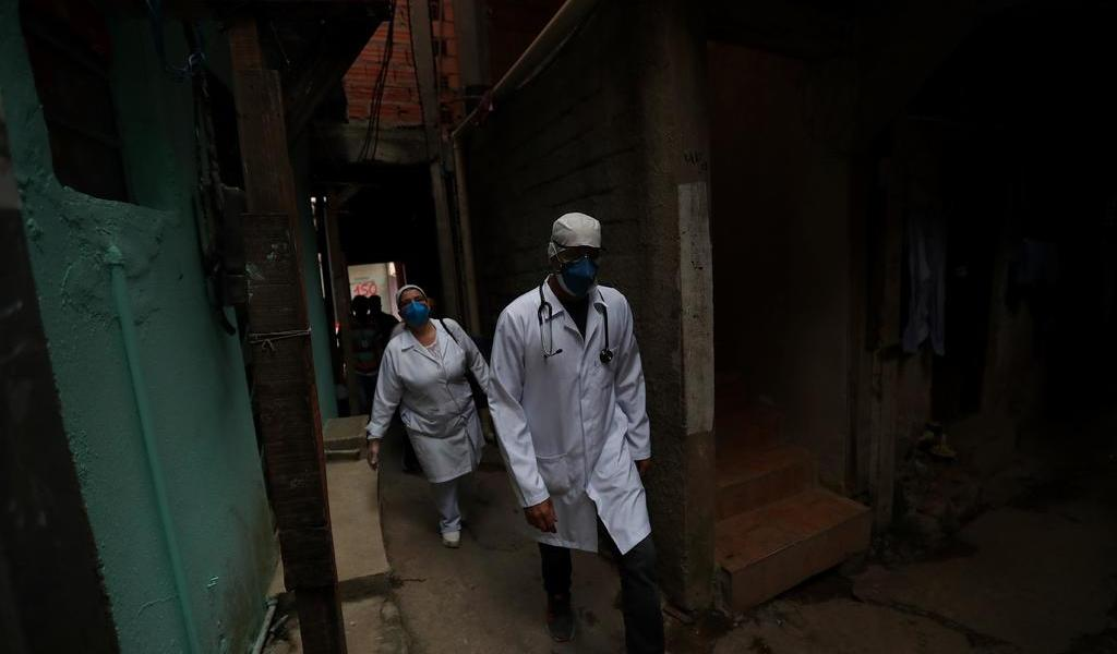 Favelas de Brasil, con alto riesgo de contagio