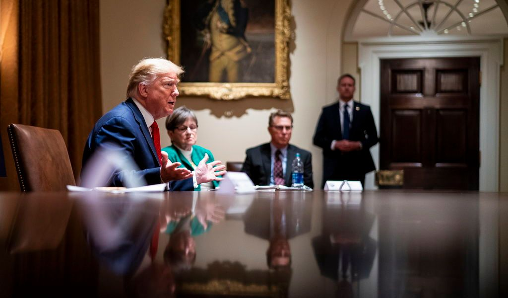 Analiza Trump realizar cumbre presencial del G7