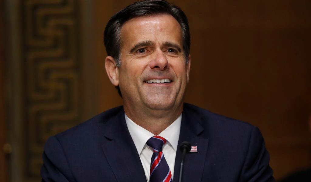 Confirman a congresista republicano como director de Inteligencia de EUA