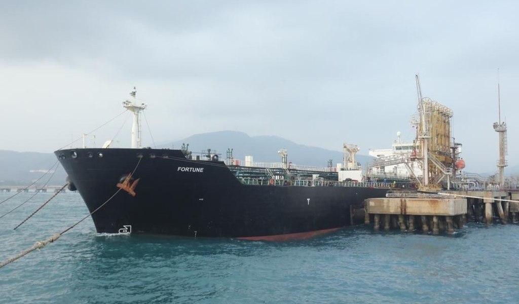 Llega primer buque iraní a Venezuela
