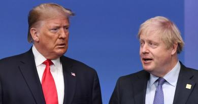 Trump y Johnson analizan posible reunión durante cumbre del G7