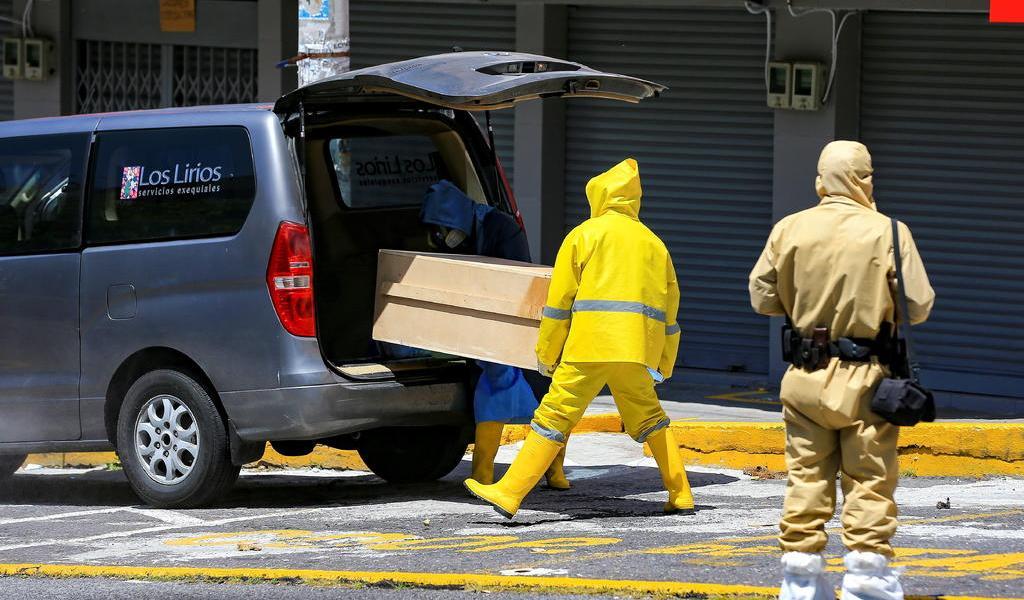 Supera Ecuador los 39 mil contagios de COVID-19
