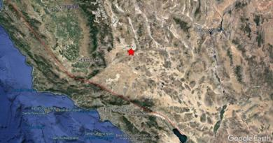 Reportan sismo de 5.5 grados en el sur de California