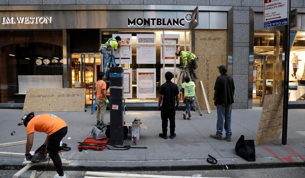 Ayudará Nueva York a empresas saqueadas en reapertura