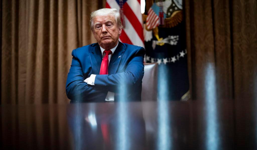 Retomará Trump mítines pese al COVID-19