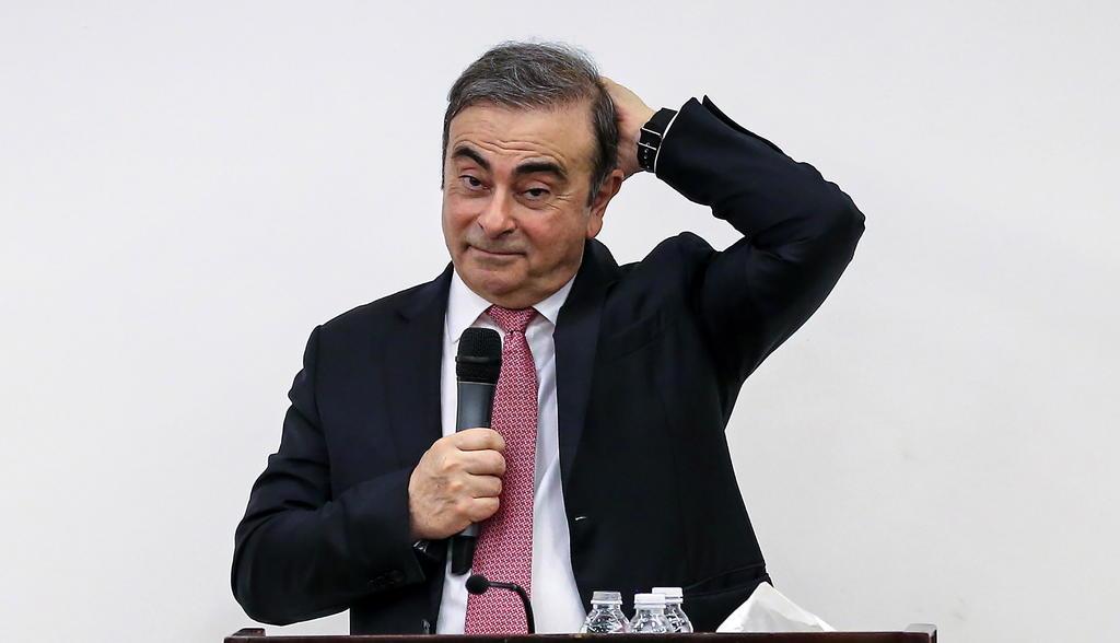 Pide Japón a EUA extraditar a dos que ayudaron a Ghosn