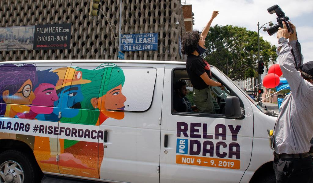 Dulce García, 'soñadora' que demandó a Trump, celebra fallo sobre DACA