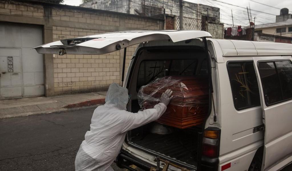Guatemala supera las 600 muertes por COVID-19
