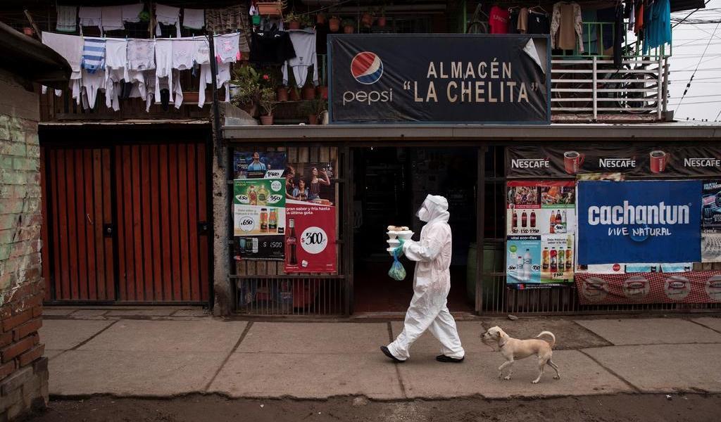 Supera Chile las 5 mil muertes por COVID-19