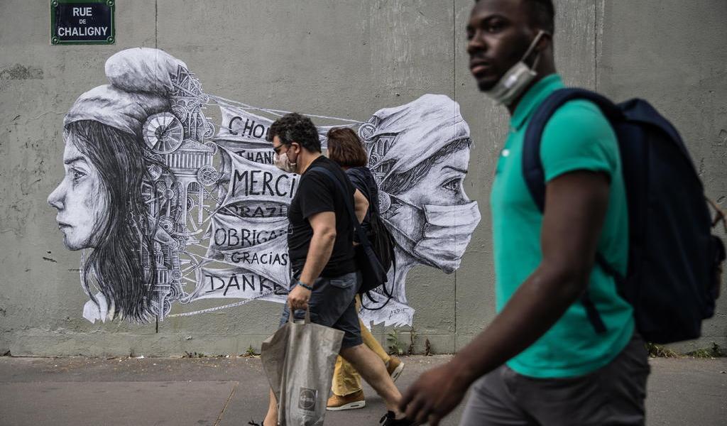 Registra Francia 30 muertes por COVID-19 en el último día
