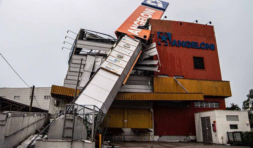 Castiga ciclón al sur de Brasil; deja nueve muertos
