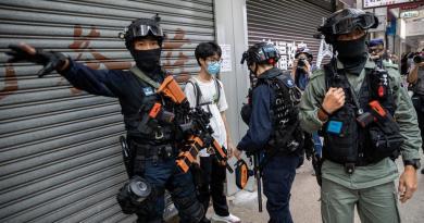 Condena EUA los arrestos en Hong Kong tras la implementación de nueva ley
