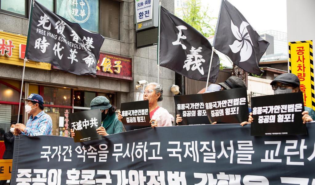 Incertidumbre en HK bajo la ley de seguridad
