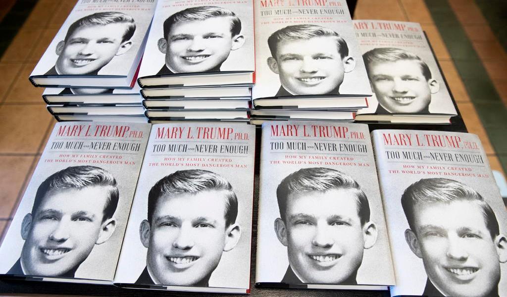 Permite juez a la sobrina de Trump promocionar libro sobre el presidente
