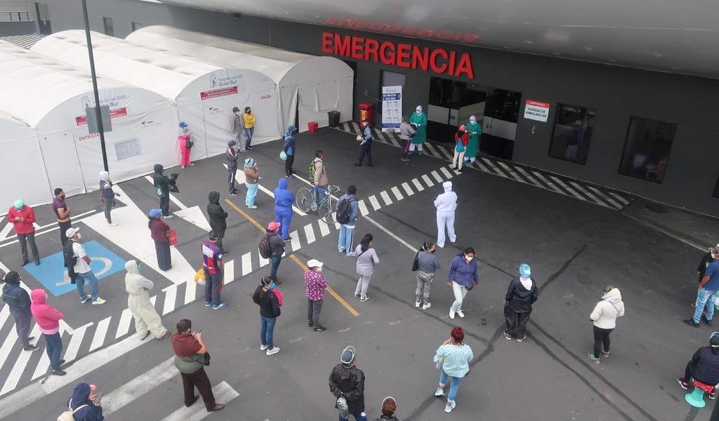 Suma Ecuador 85,355 casos de COVID-19