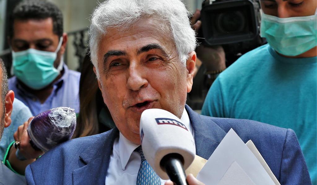 Renuncia canciller del Líbano; denuncia 'estado fallido'