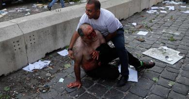 Suman al menos 27 los muertos por explosión en Beirut