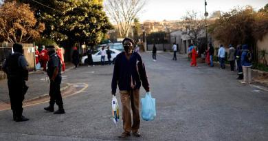 África supera el millón de contagios por COVID-19