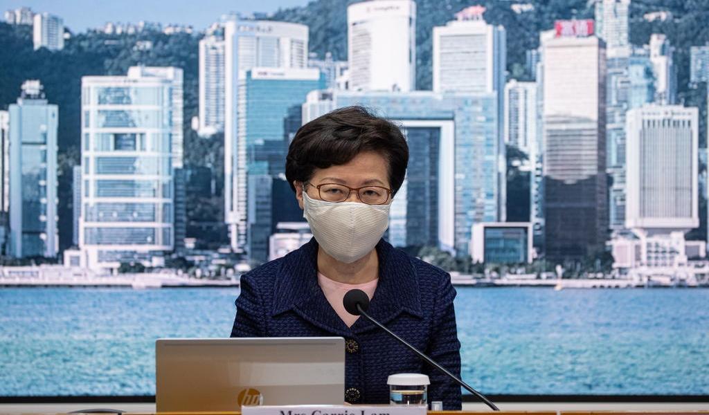 Sanciona EUA a jefa de Gobierno de Hong Kong por socavar autonomía