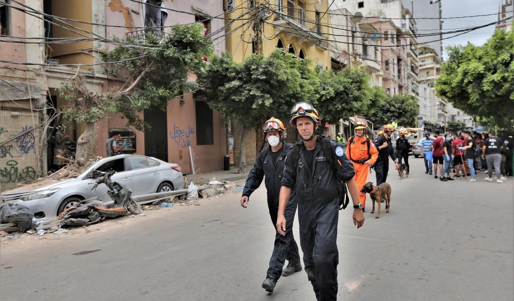 Concluye primera fase de labores de rescate en Beirut