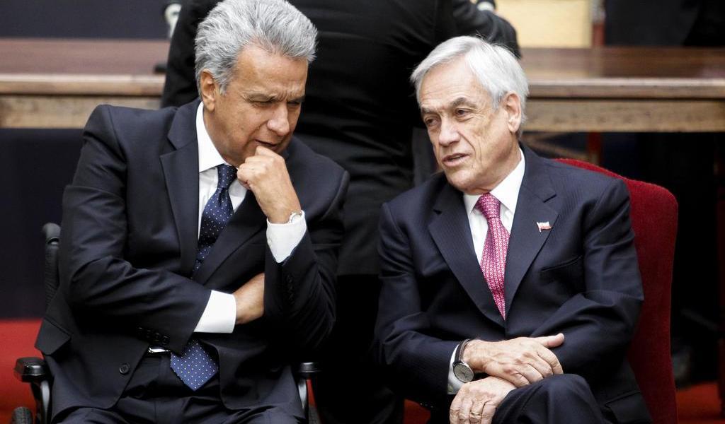 Presidentes de Chile y Ecuador firman acuerdo de integración comercial
