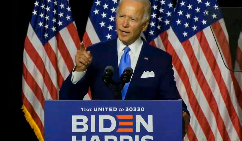Favorecen encuestas a Biden en EUA; discrepan en los porcentajes