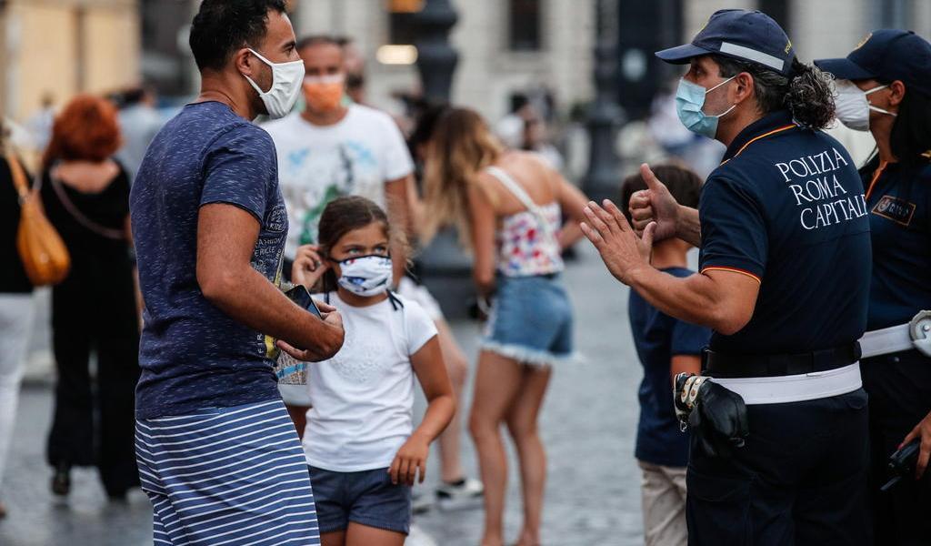 Italia registra 403 nuevos contagios de COVID-19 y 5 decesos en 24 horas