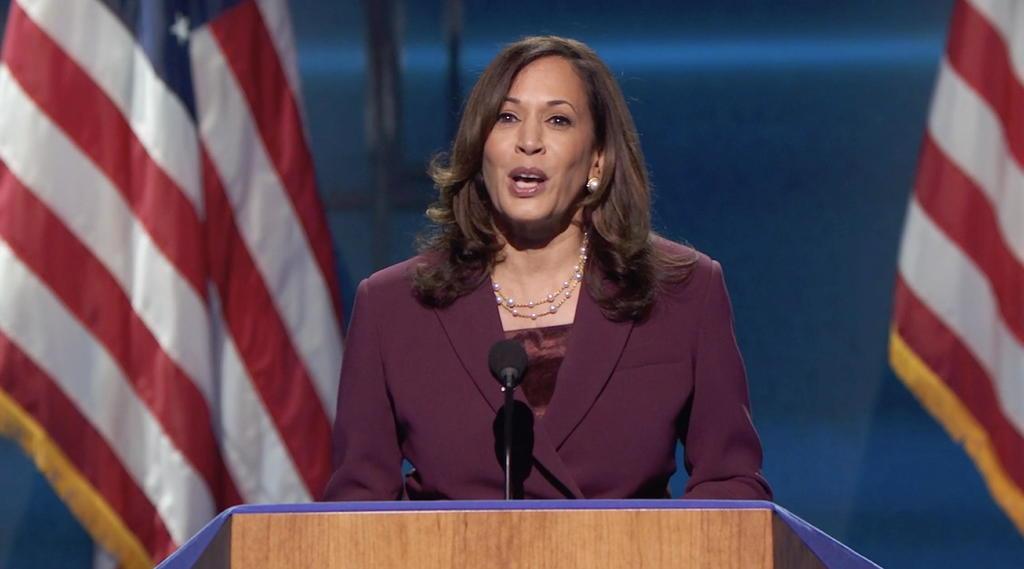 Nominan formalmente a Kamala Harris como candidata demócrata a vicepresidencia en EUA