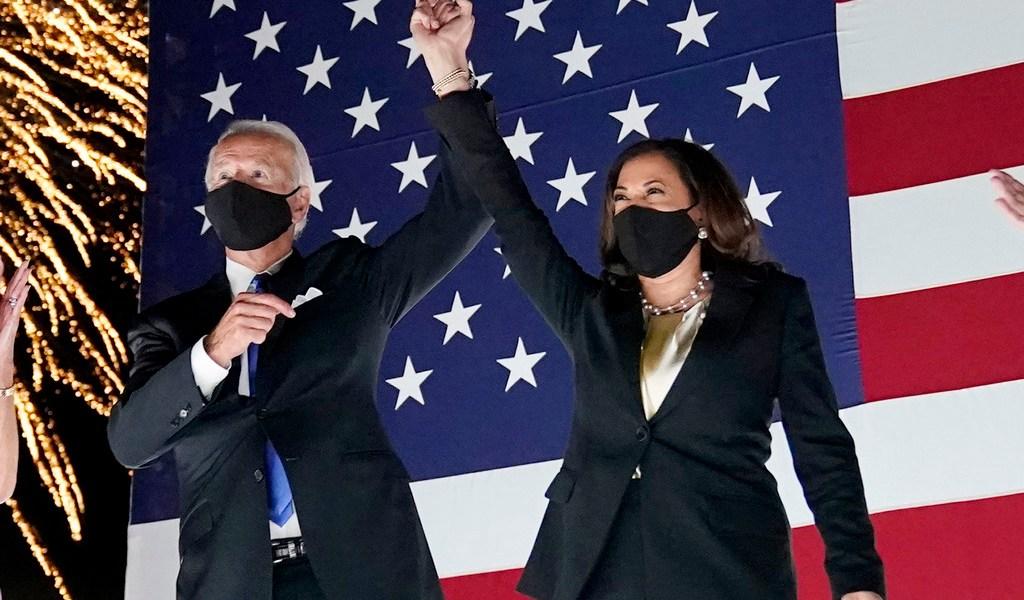 Promete Biden poner fin a una era de 'oscuridad' en EUA