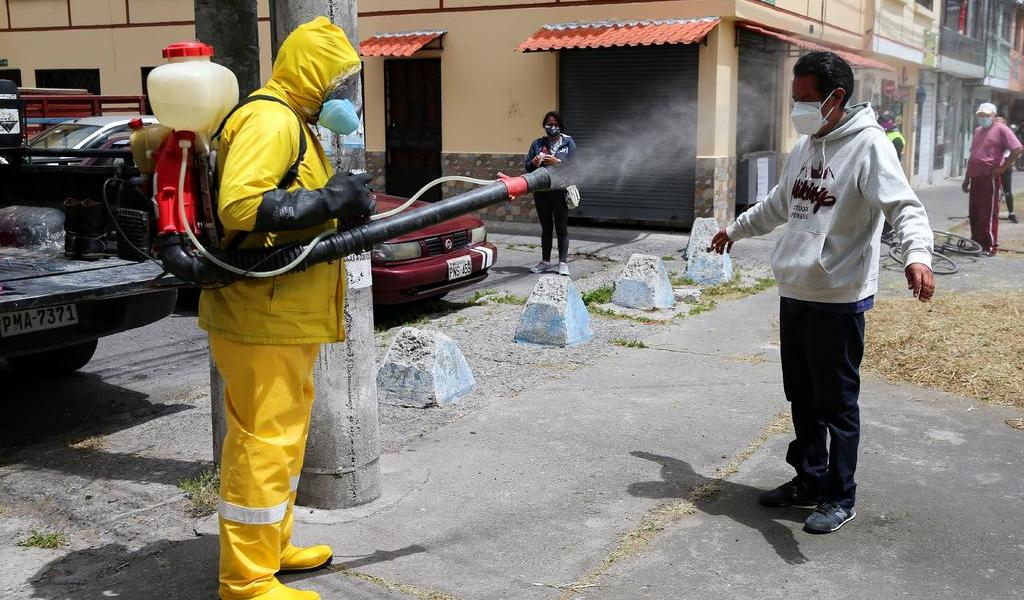 Suben a 109,030 los contagios de COVID-19 en Ecuador