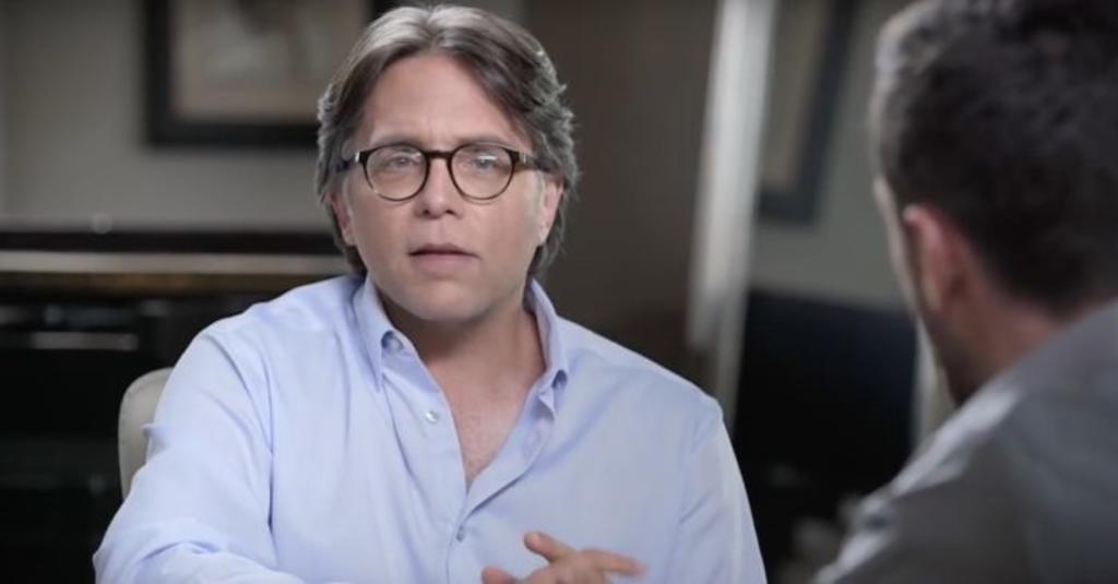 Líder de NXIVM dice que culto sexual era 'noble'