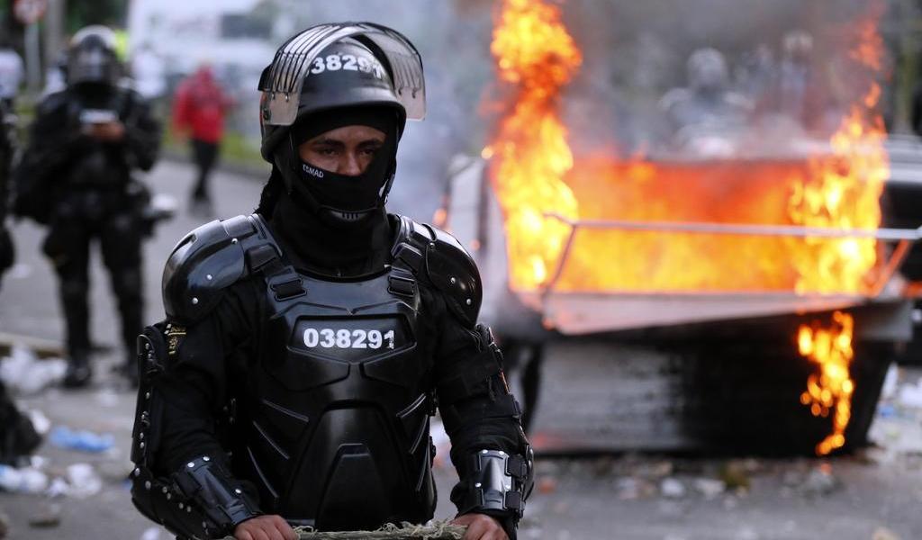 Hay una universitaria y un menor entre las víctimas de las protestas en Bogotá