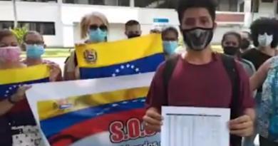 Venezolanos varados en Panamá piden ayuda a la ONU para volver a su país