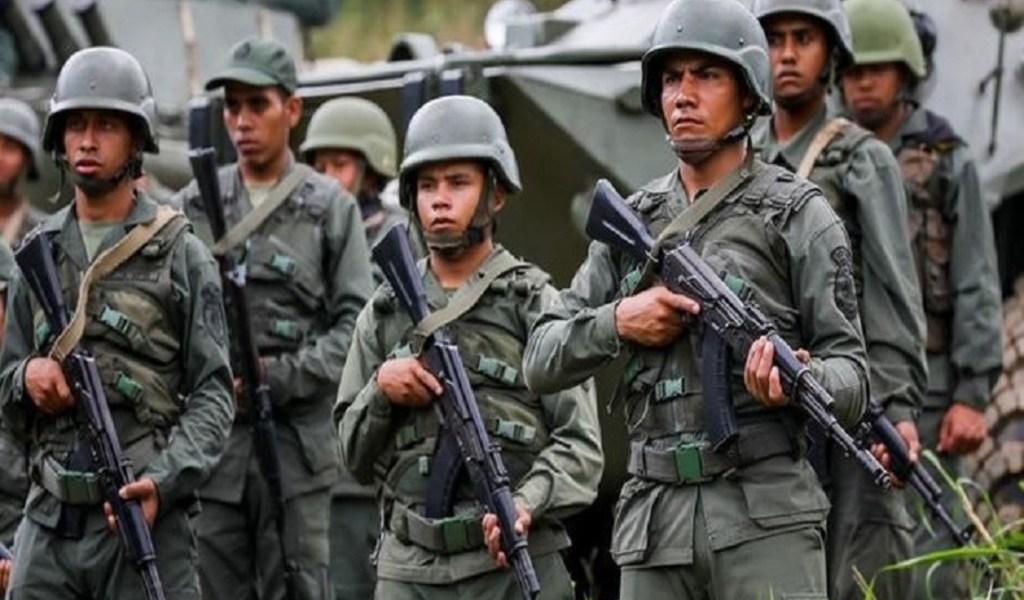 Mueren cuatro militares venezolanos en combate