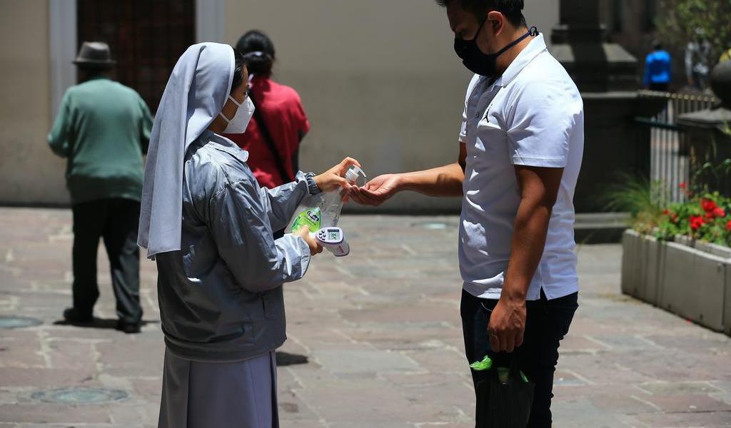 Reporta Ecuador 127,643 casos de COVID-19