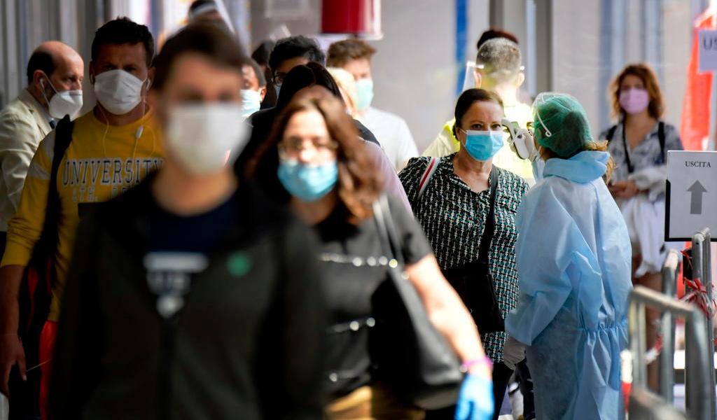 Italia suma 1,786 nuevos contagios y 23 fallecidos por COVID-19