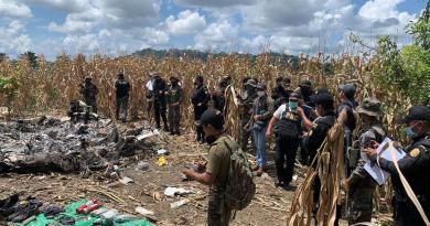 Identifican a narcotraficante fallecido en desplome de aeronave en Guatemala